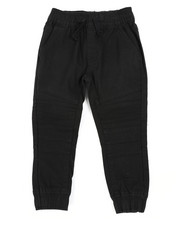 Boys - Stretch Washed Twill Moto Jogger Pants (2T-4T)-2456519