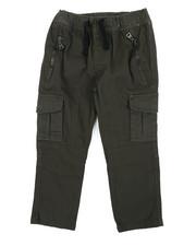 Arcade Styles - Stretch Twill Zip Cargo Pants (2T-4T)-2456632