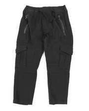 Arcade Styles - Stretch Twill Zip Cargo Pants (2T-4T)-2456628