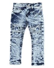 Phat Farm - Fashion Cut & Sew Moto Denim Jeans (2T-4T)-2456530