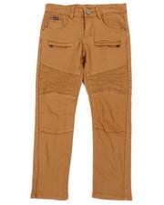 Bottoms - Stretch Moto Twill Pants W/ Zippers (8-20)-2456523