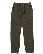 Pants - Stretch Washed Twill Moto Jogger Pants (8-20)-2456240
