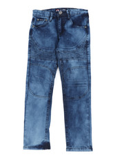 Jeans - Stretch Embossed Denim Jeans (8-20)-2456566