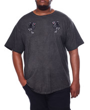 T-Shirts - Double Trouble Acid Chalk S/S Tee (B&T)-2456102