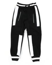 Sweatpants - Color Block Cut & Sew Fleece Joggers (4-7)-2456038
