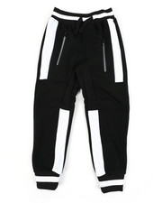 Boys - Color Block Cut & Sew Fleece Joggers (4-7)-2456038