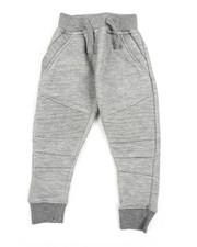 Sweatpants - Fleece Moto Joggers (2T-4T)-2456689
