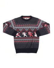 Sweatshirts & Sweaters - Fair Isle Dabbing Christmas Sweater (8-18)-2454933