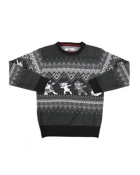 Arcade Styles - Fair Isle Dabbing Christmas Sweater (8-18)
