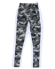Activewear - Camo Tricot Joggers W/ Open Bottom (8-20)-2456033