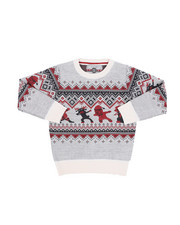 Sweatshirts & Sweaters - Fair Isle Dabbing Christmas Sweater (4-7)-2455368