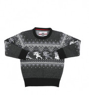 Sweatshirts & Sweaters - Fair Isle Dabbing Christmas Sweater (4-7)-2455353