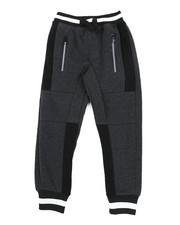 Sweatpants - Color Block Cut & Sew Fleece Joggers (4-7)-2456048