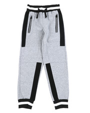 Sweatpants - Cut & Sew Color Block Fleece Pants (8-20)-2456514