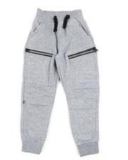 Sweatpants - Cut & Sew Moto Fleece Joggers (4-7)-2456680