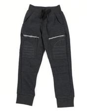 Boys - Cut & Sew Moto Fleece Joggers (4-7)-2456075