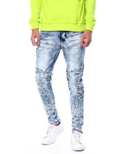Jeans & Pants - Articulated Knee Jean w Zipper Detail-2458278