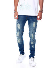 Jeans - 5 year distressed jean-2458254