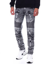 Jeans & Pants - Distressed Moto Jean`-2458202
