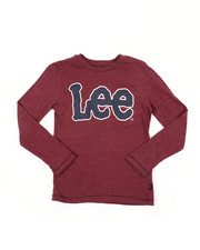 Lee - Long Sleeve Logo Tee (8-20)-2453790