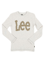 Lee - Long Sleeve Logo Tee (8-20)-2453795
