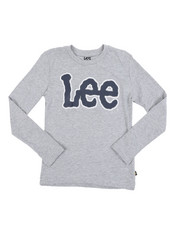 Lee - Long Sleeve Logo Tee (8-20)-2453803