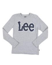 Boys - Long Sleeve Logo Tee (8-20)-2453803