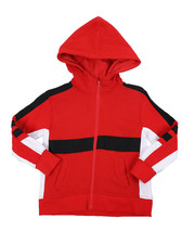 Sizes 4-7x - Kids - Color Blocked French Terry Hoodie (4-7)-2457734