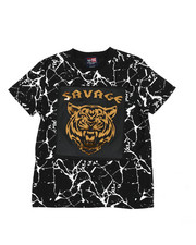 Phat Farm - Savage Mirror Foil Patch Tee (8-18)-2457895