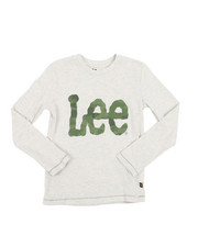 Lee - Long Sleeve Logo Tee (8-20)-2454333