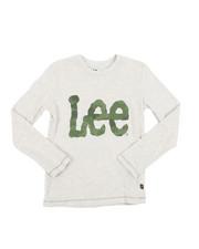 Boys - Long Sleeve Logo Tee (8-20)-2454333