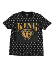 Phat Farm - King Mirror Foil Patch Tee (8-18)-2457904