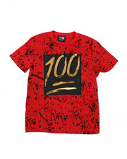 Boys - 100 Mirror Foil Patch Tee (8-18)-2457887