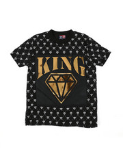 Phat Farm - King Mirror Foil Patch Tee (4-7)-2457899