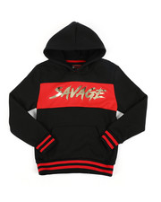 Hoodies - Savage Fleece Pullover W/ Embossed Foil (8-18)-2457790