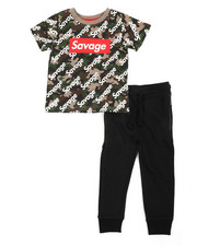 Sets - 2 Pc Tee & Jogger Pants Set (2T-4T)-2456594