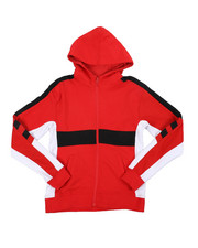 Hoodies - Color Blocked French Terry Hoodie (8-18)-2457739
