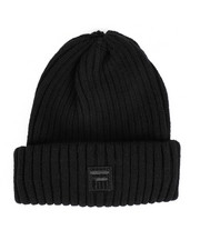Mens-Winter - Wool Rib Cuffed Shorteman Beanie-2457945