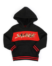 Sizes 4-7x - Kids - Savage Fleece Pullover W/ Embossed Foil (4-7)-2457759