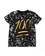 Sizes 4-7x - Kids - 100 Mirror Foil Patch Tee (4-7)-2457865