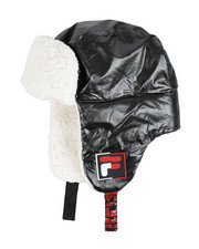 Fila - Metallic Nylon Puffer Trapper With Sherpa Lining-2457947