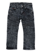 Sizes 4-7x - Kids - Skinny Stretch Moto Jeans (4-7)-2457827