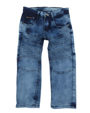 Sizes 4-7x - Kids - Skinny Stretch Moto Jeans (4-7)-2457832