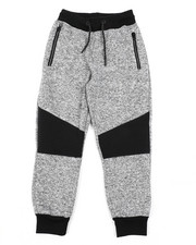 Sweatpants - Marled Fleece Jogger Pants (8-20)-2457560