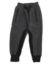 Sweatpants - Cut & Sew Fleece Joggers (2T-4T)-2457440