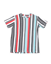 Arcade Styles - Striped Knit Tee (8-18)-2457626
