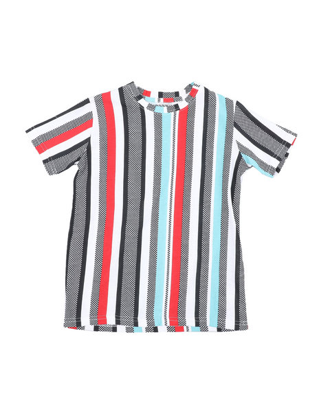 Arcade Styles - Striped Knit Tee (8-18)