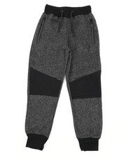 Sweatpants - Marled Fleece Jogger Pants (8-20)-2457535