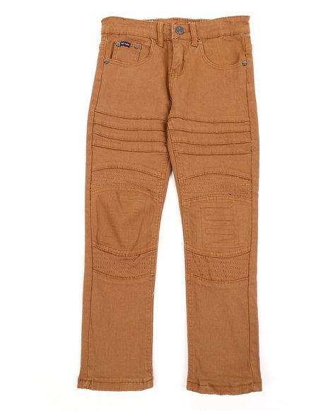 Arcade Styles - Skinny Stretch Embossed Bull Denim Jeans (8-18)