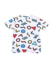 Arcade Styles - Geometrics Knit Tee (8-18)-2457661